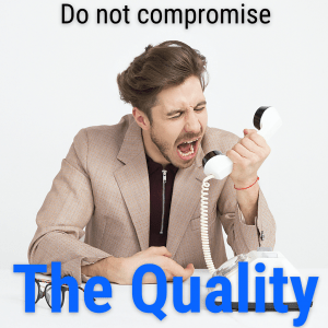 Quality of Product or Services
