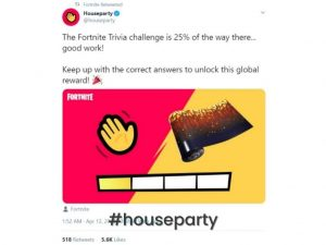 Houseparty campaign