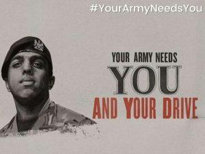 YourArmyNeedsYou campaign
